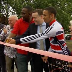 Burgess Park BMX Track Opening